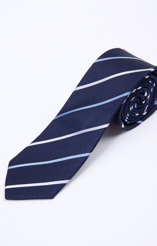Cravate BLURAY à rayures