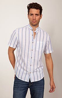 Chemise Col 39 Courtes 99 € Manches Mao Lin roeWCdBx