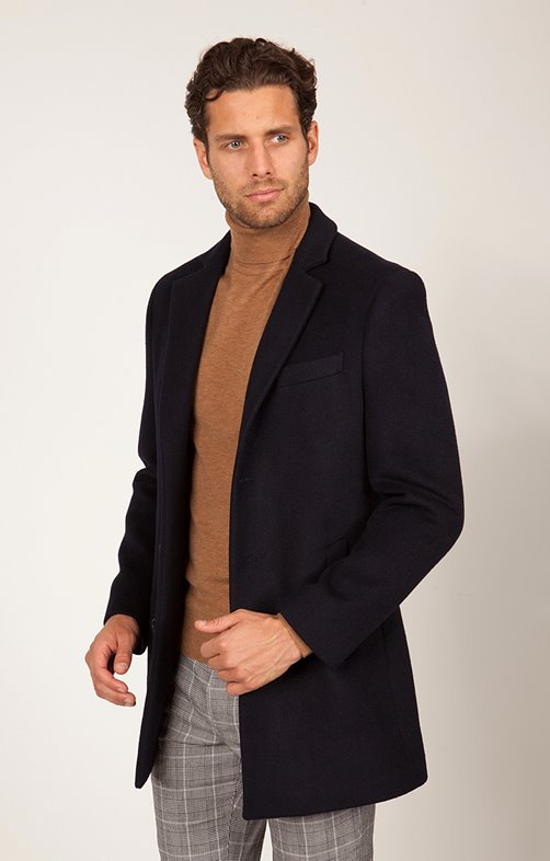 Manteau Mi-Long Ecomarino