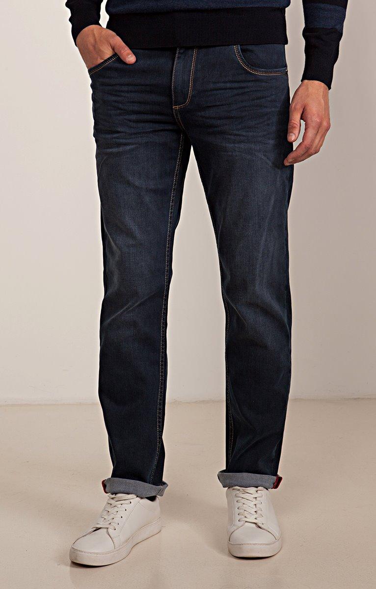 Jean coupe regular Stripy