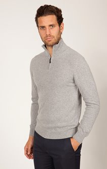 PULL COL MONTANT AVEC CACHEMIRE