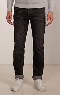 Denim coupe régular Charcoal