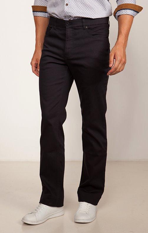 Pantalon 5 poches régular Faconné