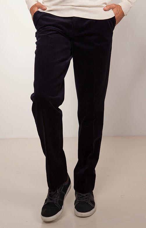Pantalon en velours extensible