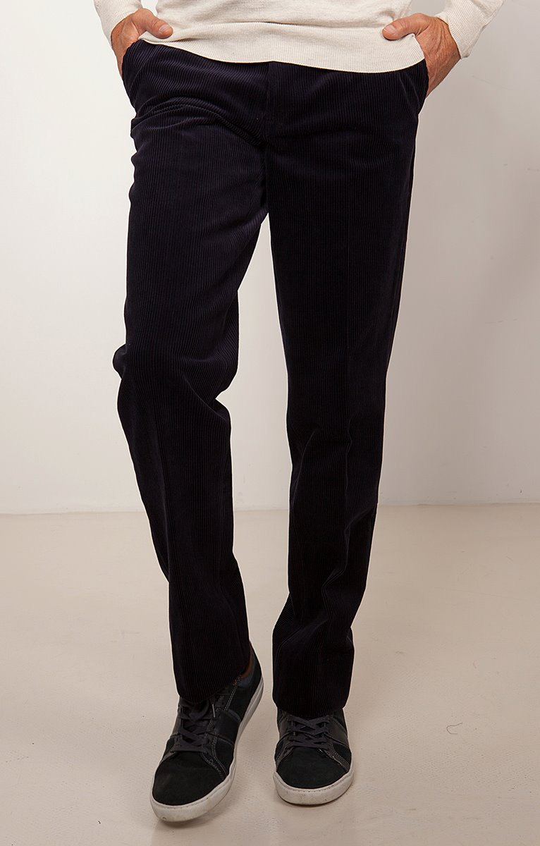 Pantalon en velours extensible