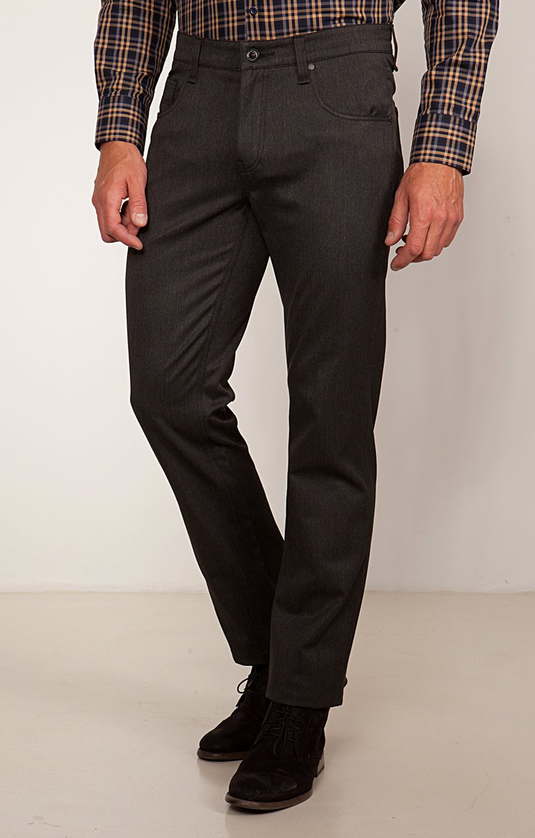 Pantalon 5 poches régular Soft