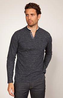 tee-shirt uni manches longues