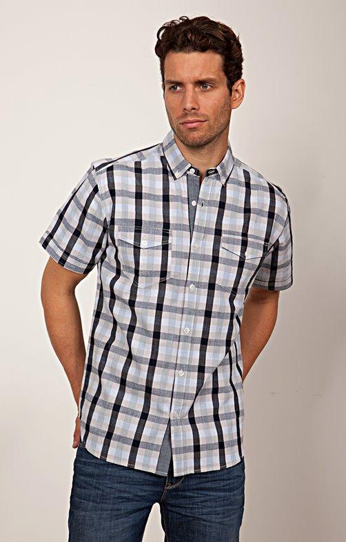 Chemise à manches courtes confort