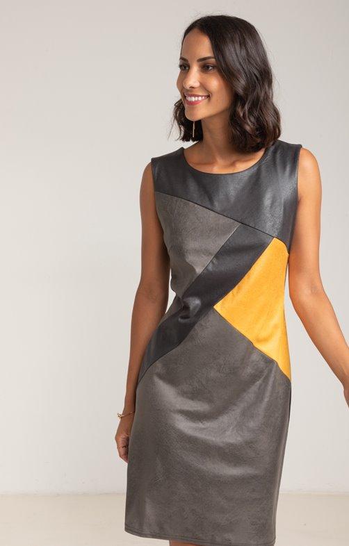robe color-block