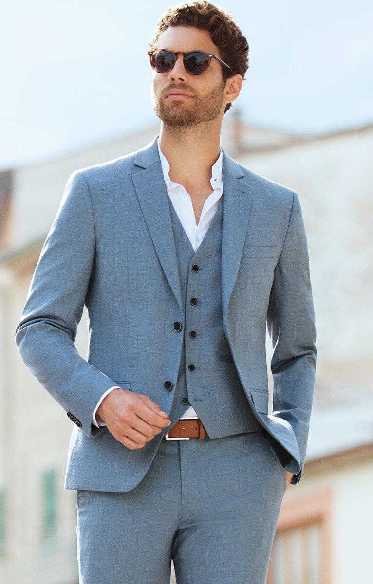 Veste de costume ajustée SLAVATO