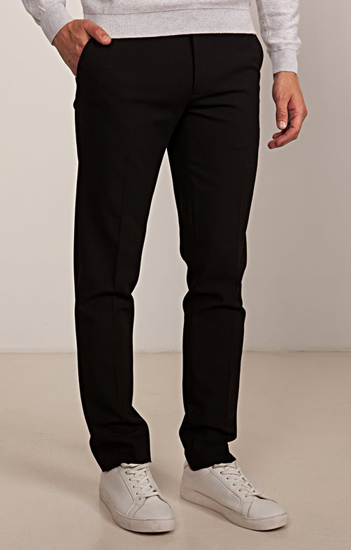 Pantalon Chino régular taille extensible