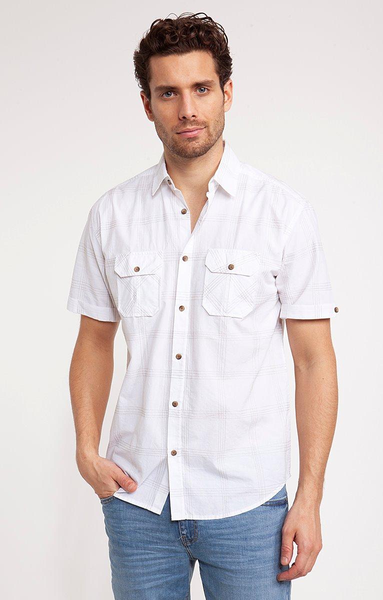 Chemise à carreaux TOPSTITCH