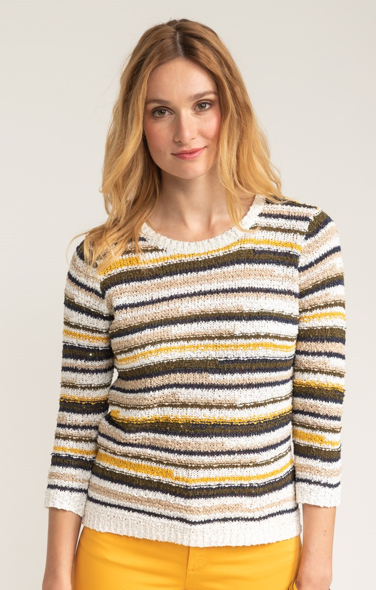 PULL RAYURES MULTICOULEURS