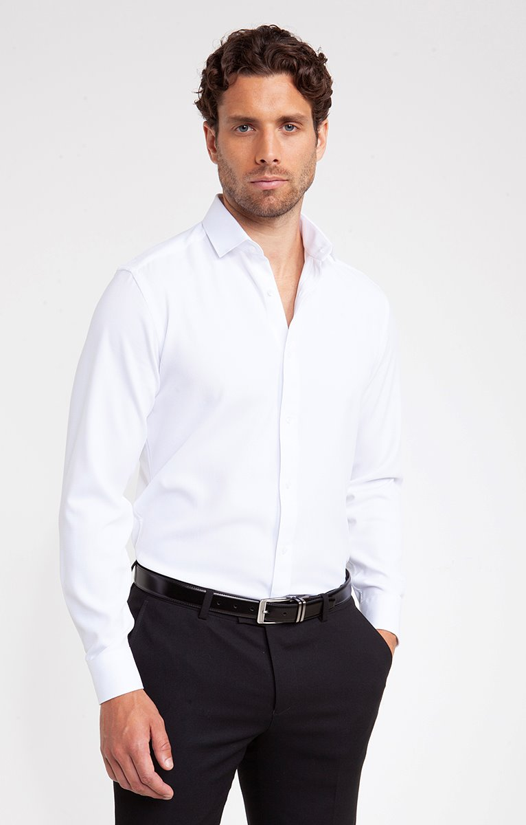Chemise Relief Fluide