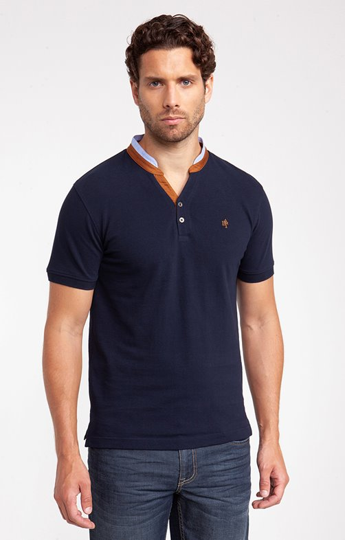 Tee shirt manches courtes oxford