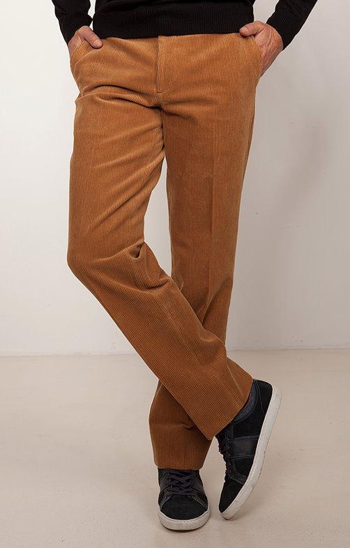 Pantalon velours taille extensible