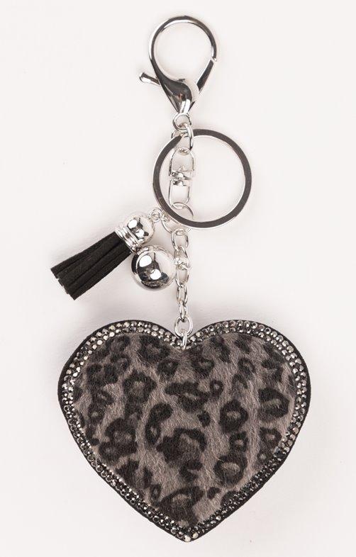 Porte-clé en forme de coeur