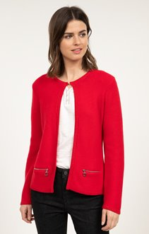 CARDIGAN POINT MOUSSE ET LUREX