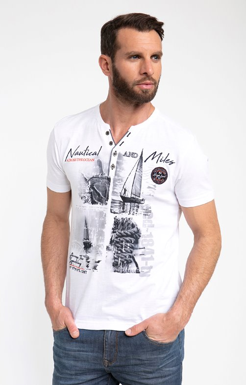 Tee shirt manches courtes miles