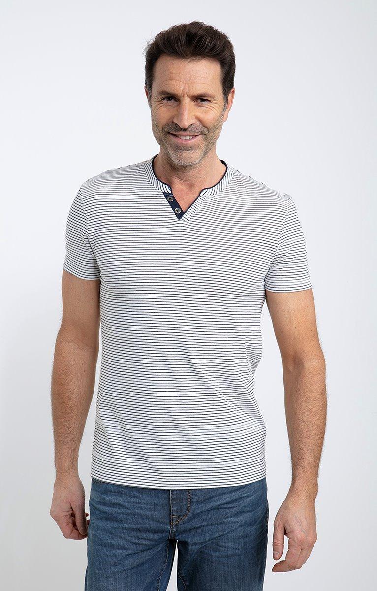 Tee shirt manches courtes stripe