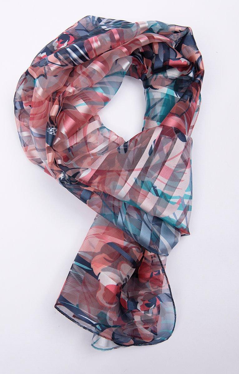 foulard bande satin