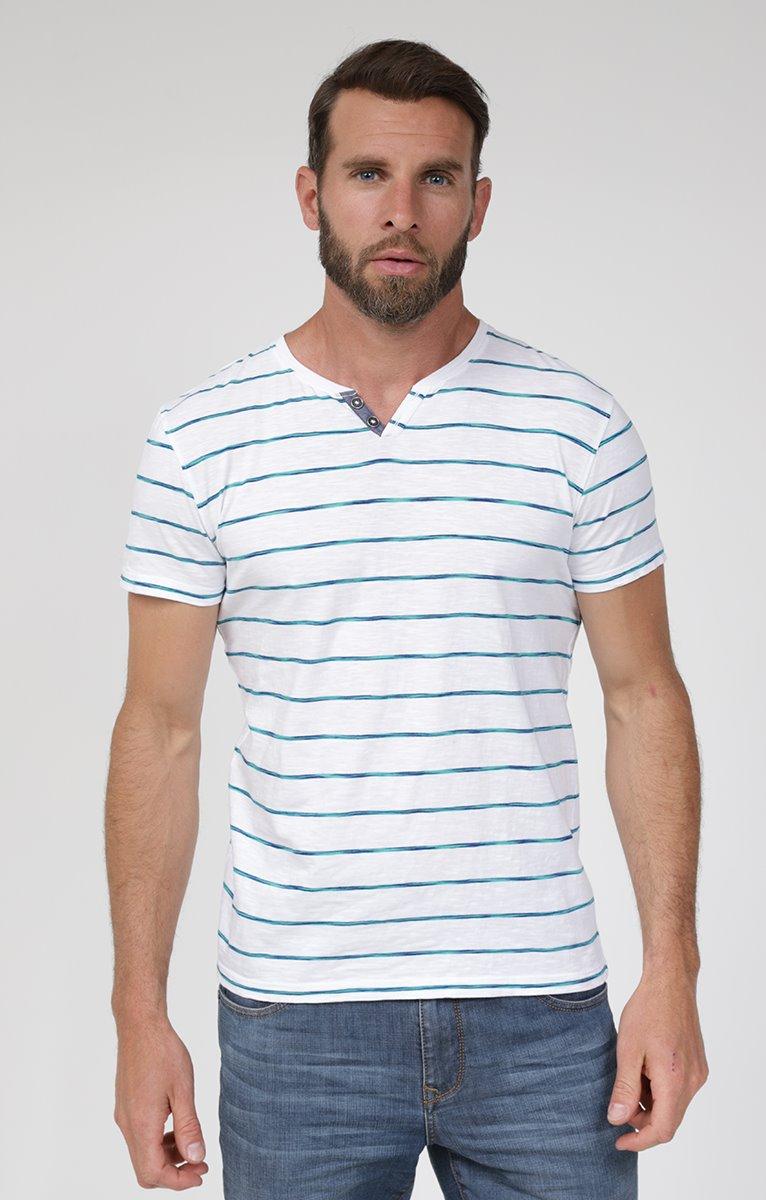 Tee shirt manches courtes rayflam