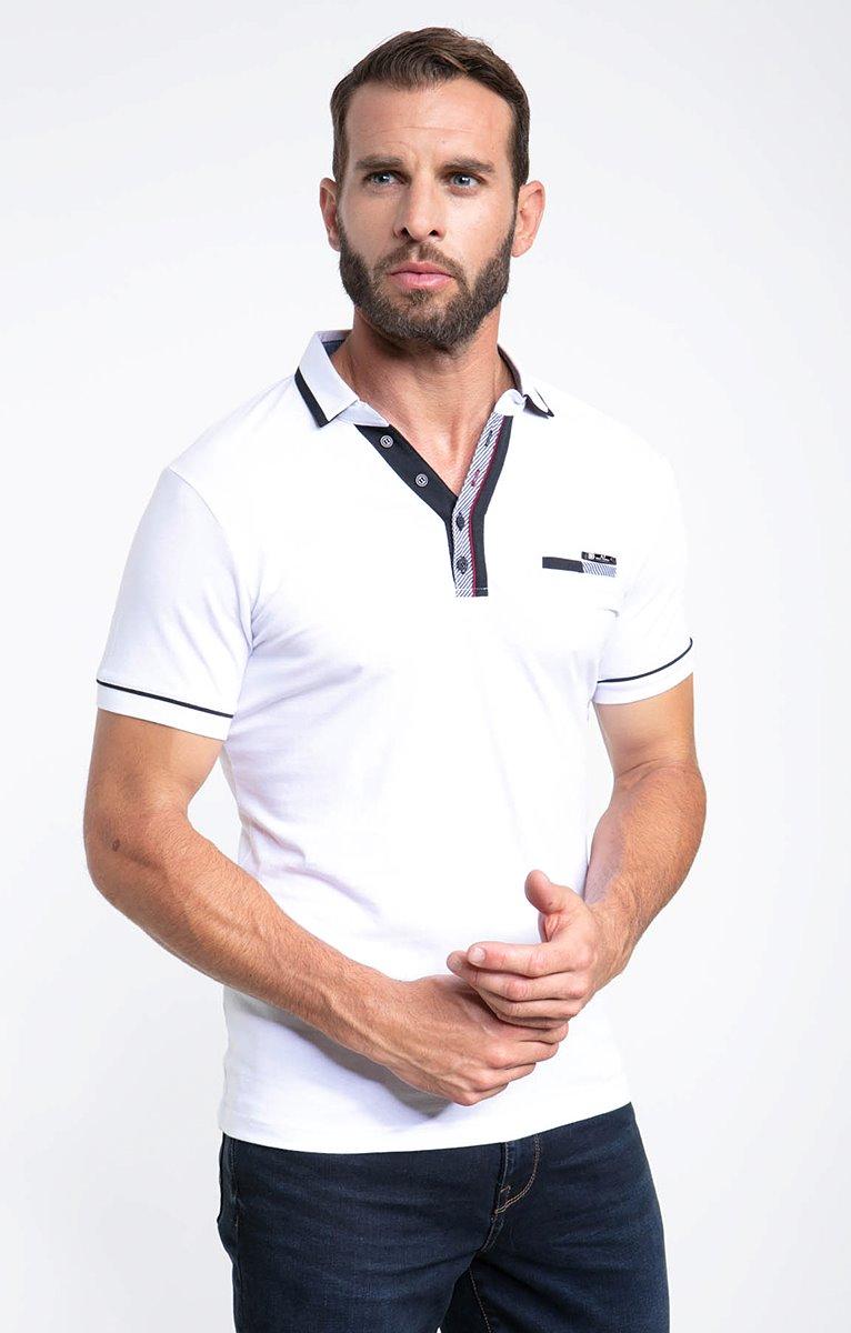 Polo manches courtes vp stripes