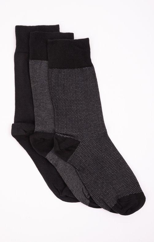 chaussettes chevron