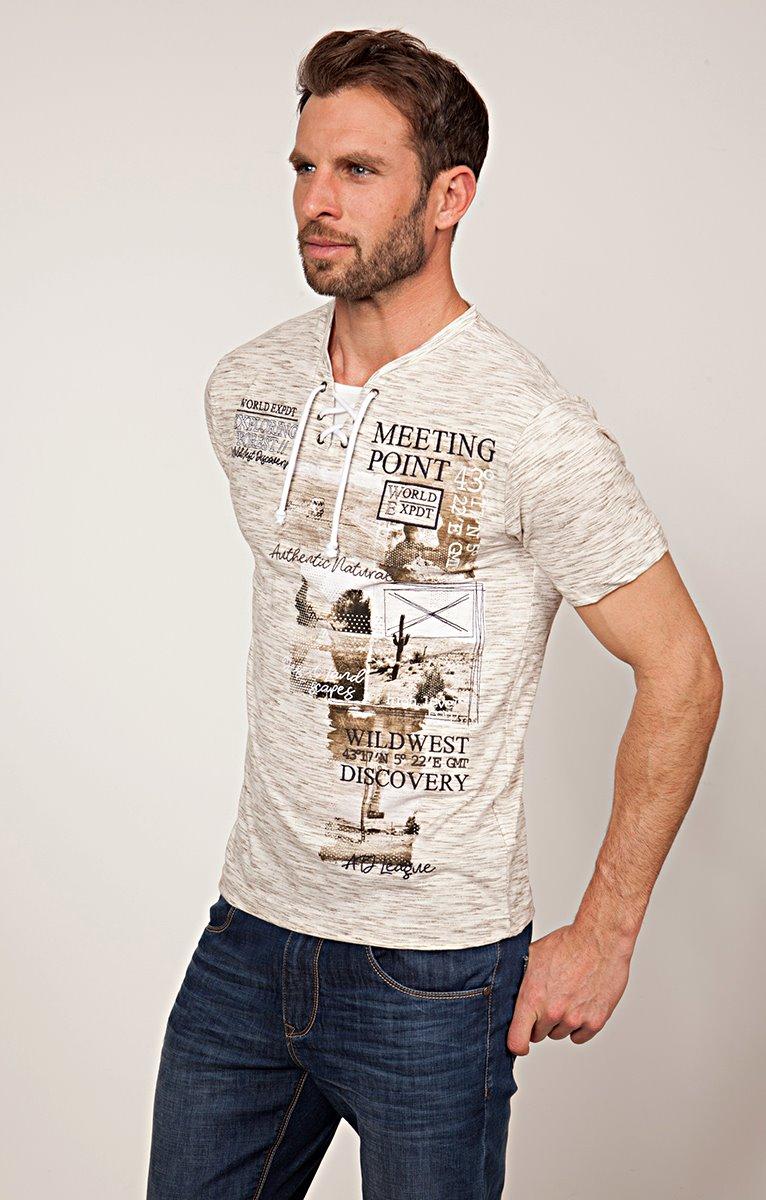 Tee shirt imprimé forest