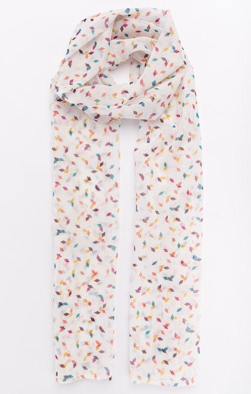 Petit foulard léger imprimé