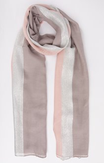 Foulard bicolore