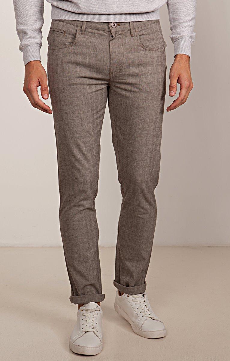 Pantalon 5 poches Prince de Galles