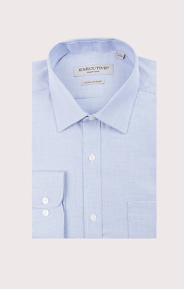 CHEMISE MANCHES LONGUES RAYÉE