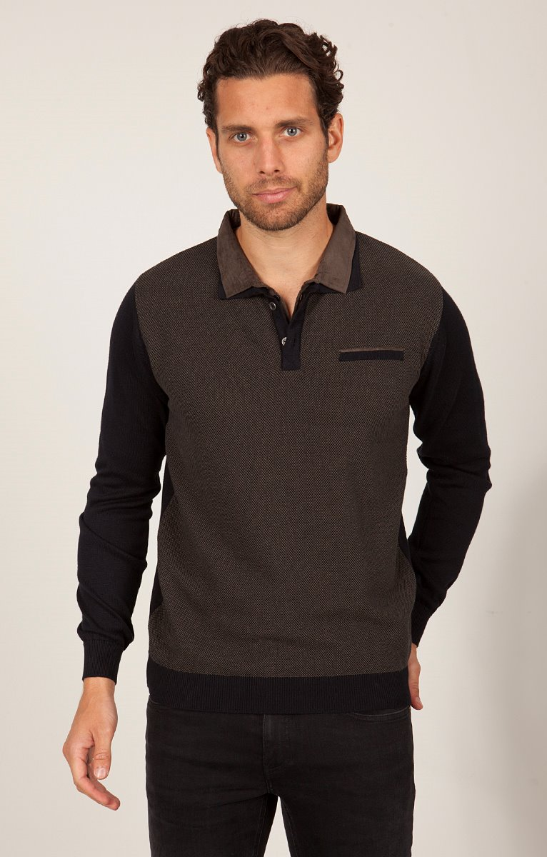 PULL DOUBLE COL POLO