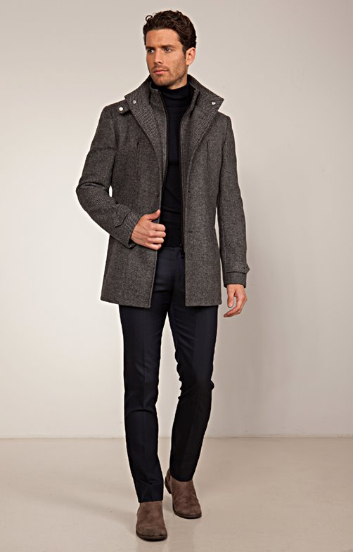 Manteau Mi-Long Saelo