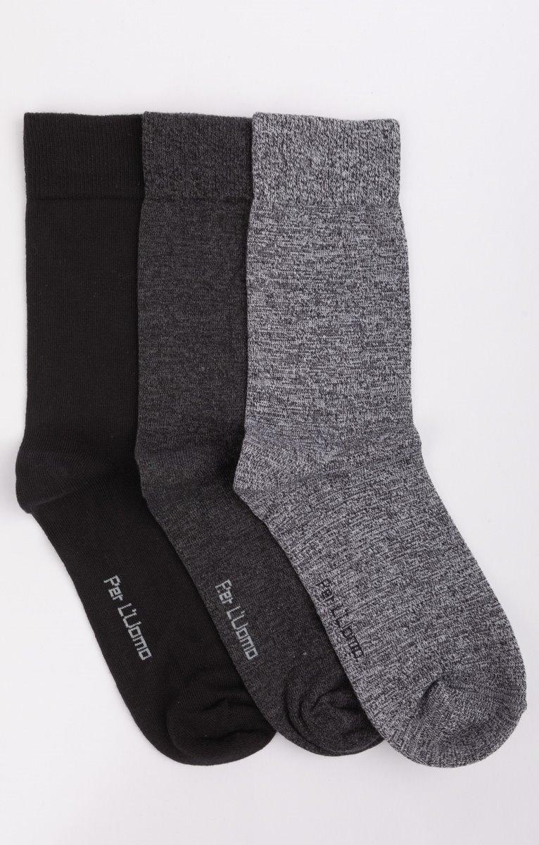 3 paires de chaussettes mix couleurs