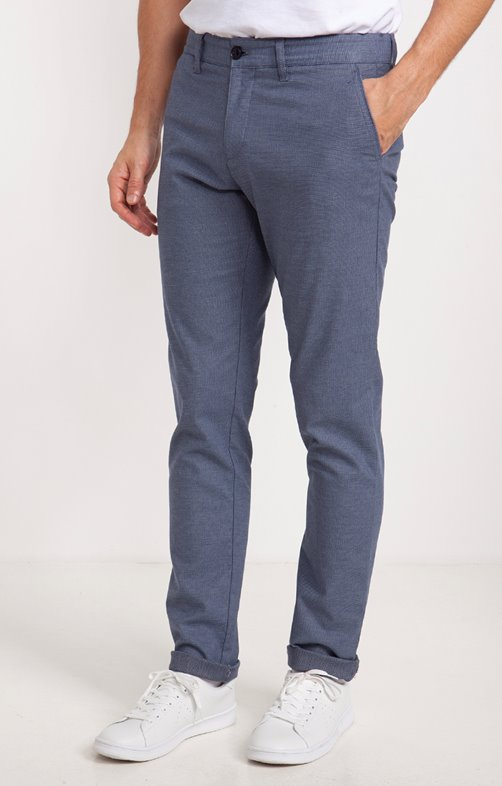 Chino coupe ajustée Trendy