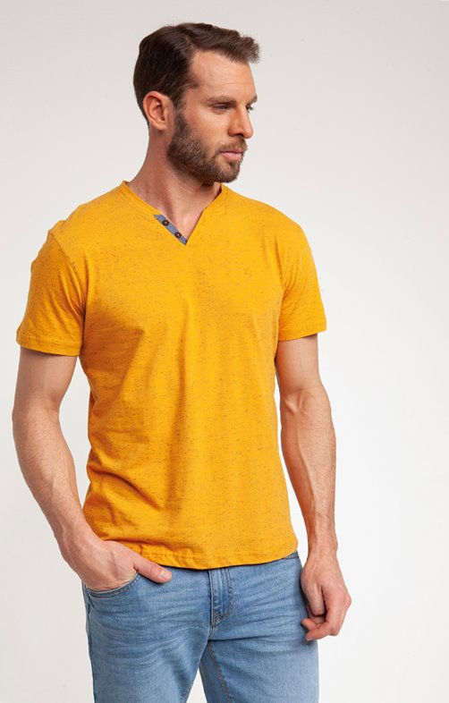 Tee-shirt manches courtes yellow