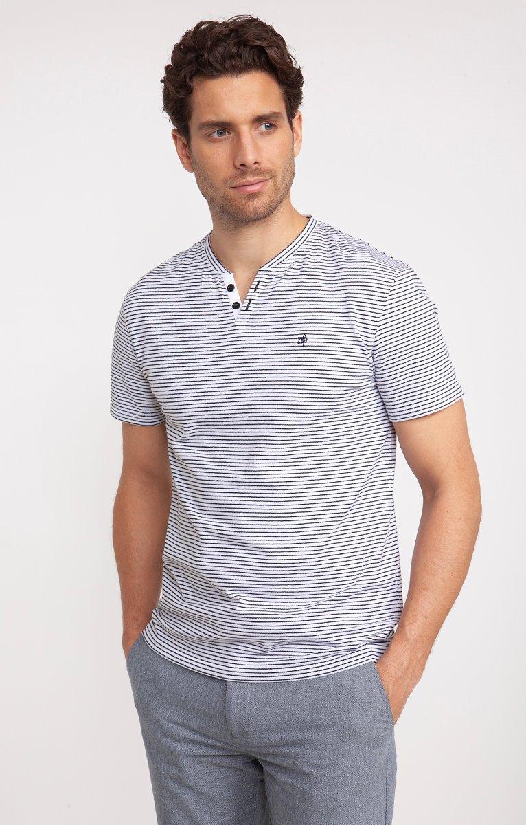 Tee shirt manches courtes matelot