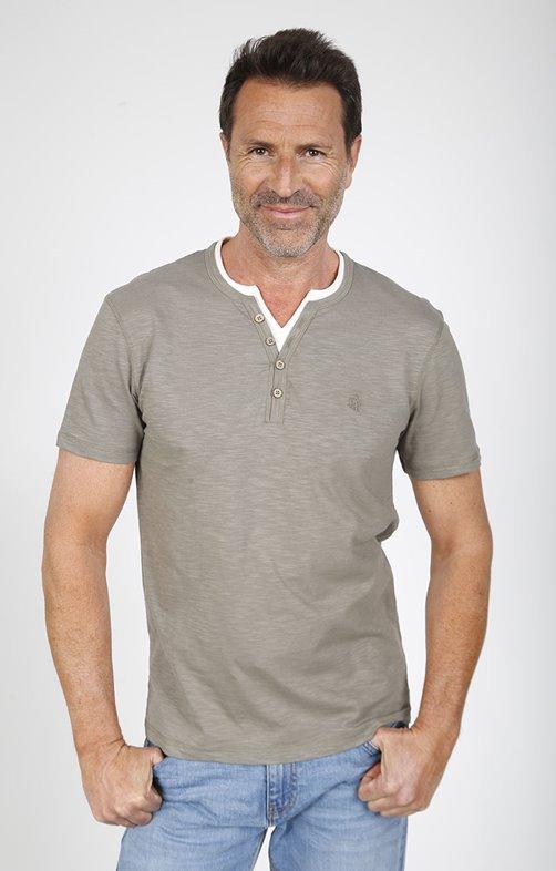 Tee shirt manches courtes verti