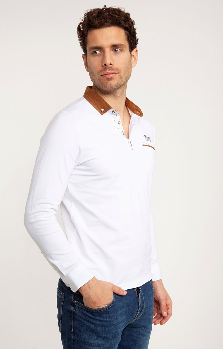 Polo manches longues colcamel