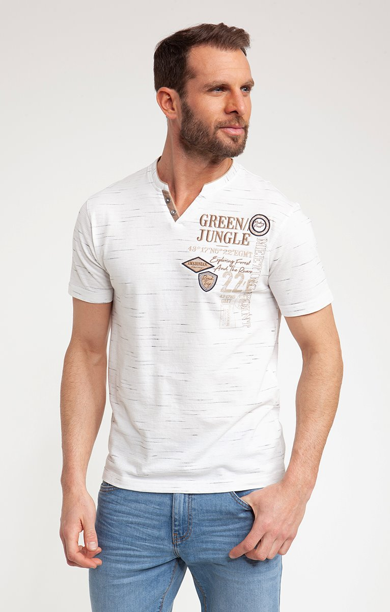 Tee shirt manches courtes terre