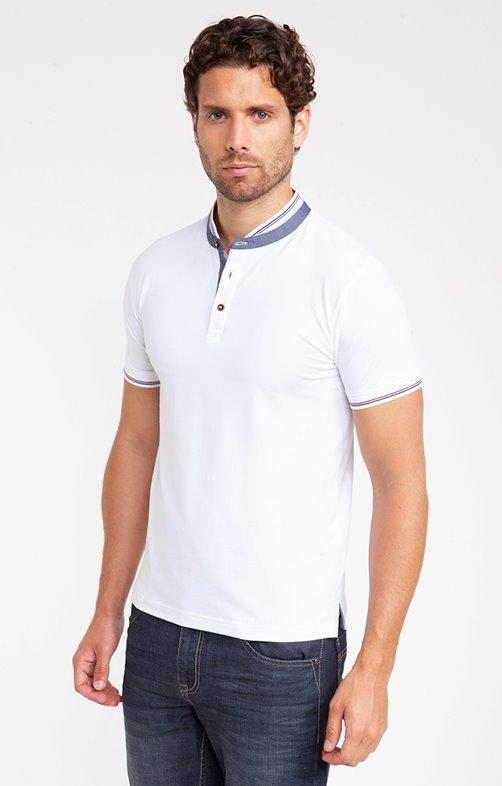 Tee shirt manches courtes rib