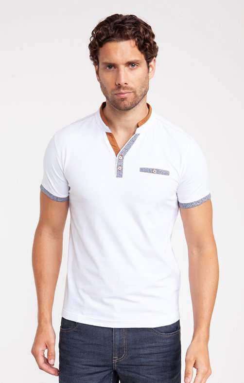 Tee shirt manches courtes duo