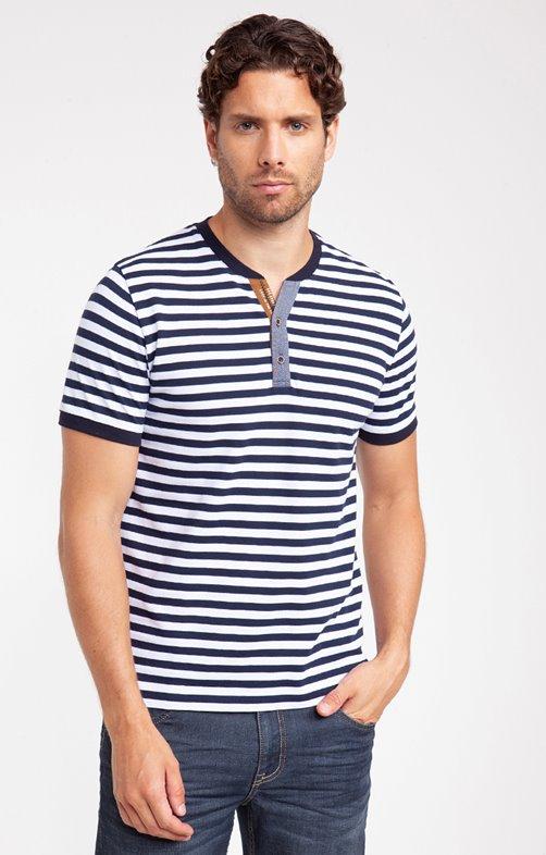 Tee shirt manches courtes stripy