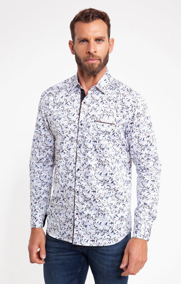 chemise casual motif woody