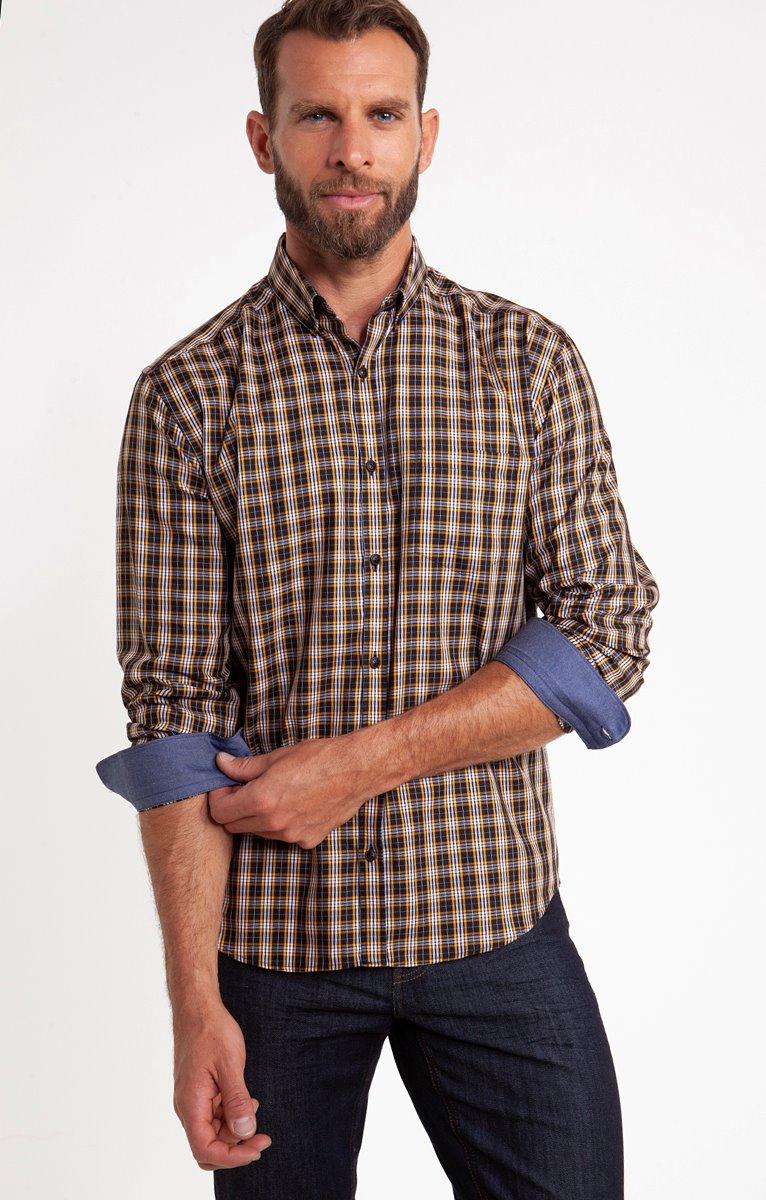 Chemise à carreaux maxim