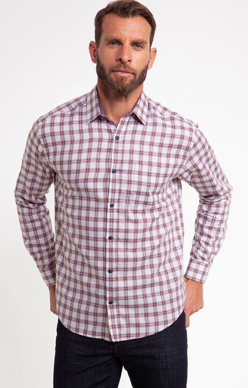 Chemise à carreaux gaston