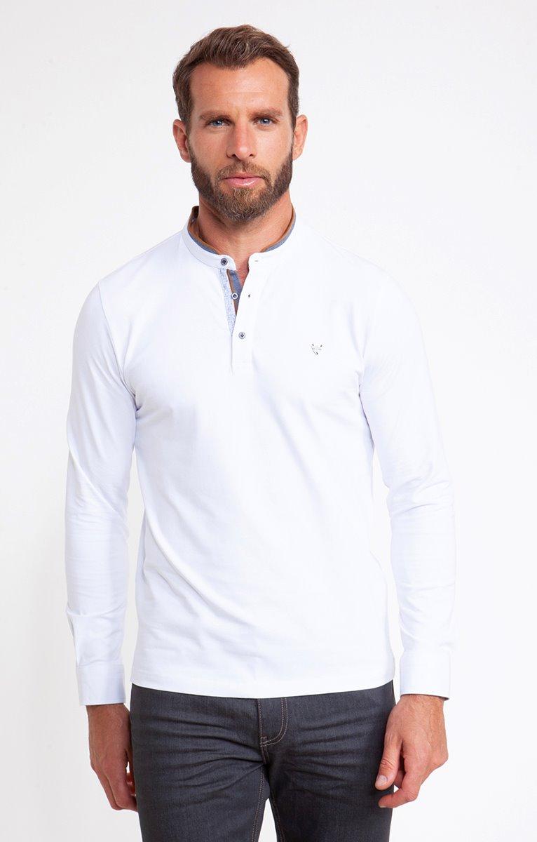 Tee shirt manches longues white