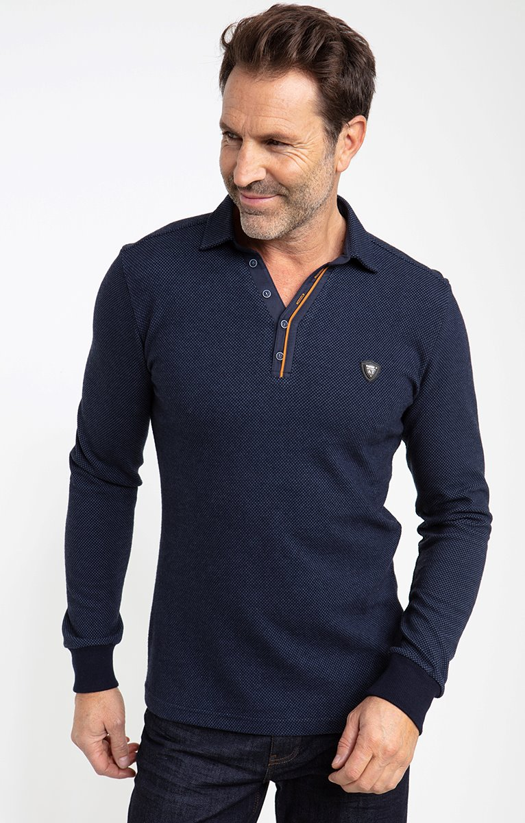 Polo manches longues pointy
